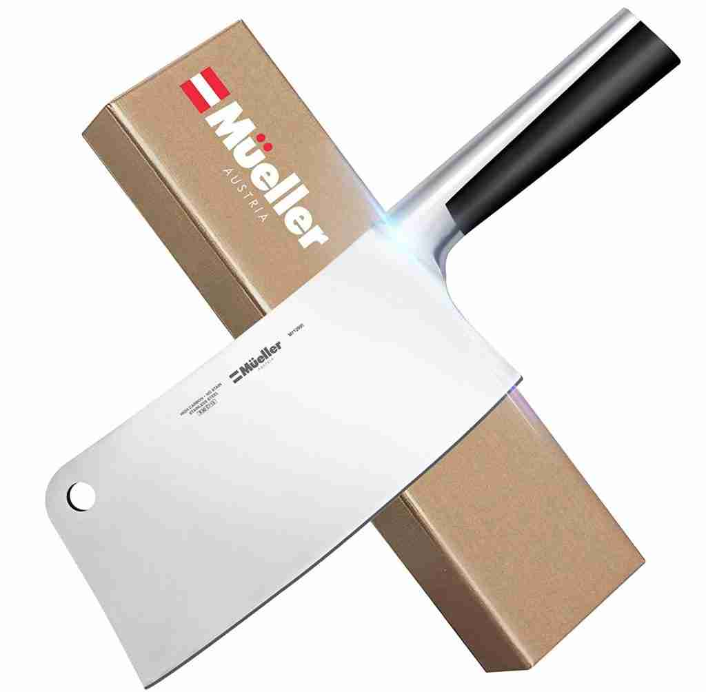 Professional Butcher Meat Cleaver and Chopper